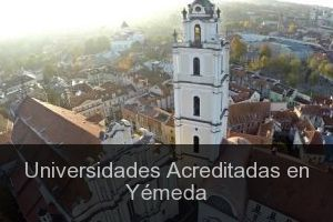 Universidades Acreditadas en Yémeda