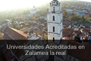 Universidades Acreditadas en Zalamea la real