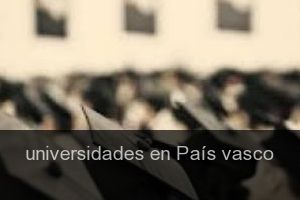 Universidades en País vasco